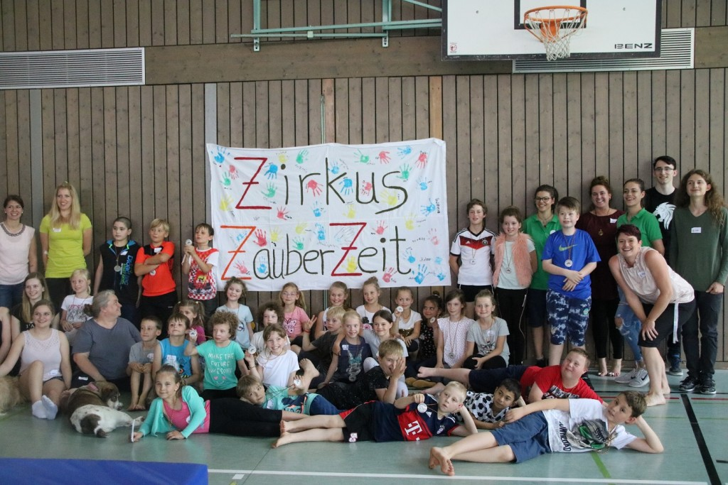 Zirkusworkshop Pfingsten 2018